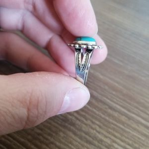 Vintage Jewelry - Sold....Vintage turquoise sterling silver ring